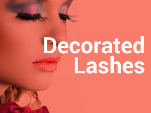 Decorated Lashes