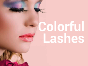 Colorful Lashes